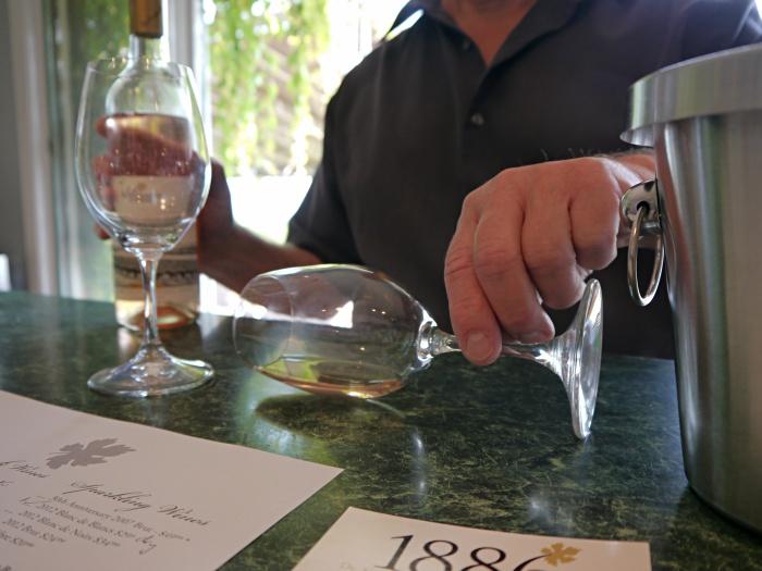 Dr Konstantin Frank winery wine tasting
