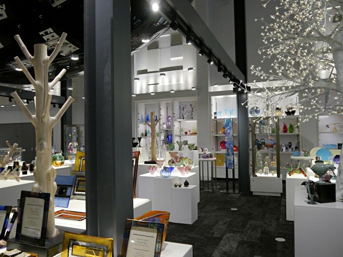 Corning Glass Museum gift shop