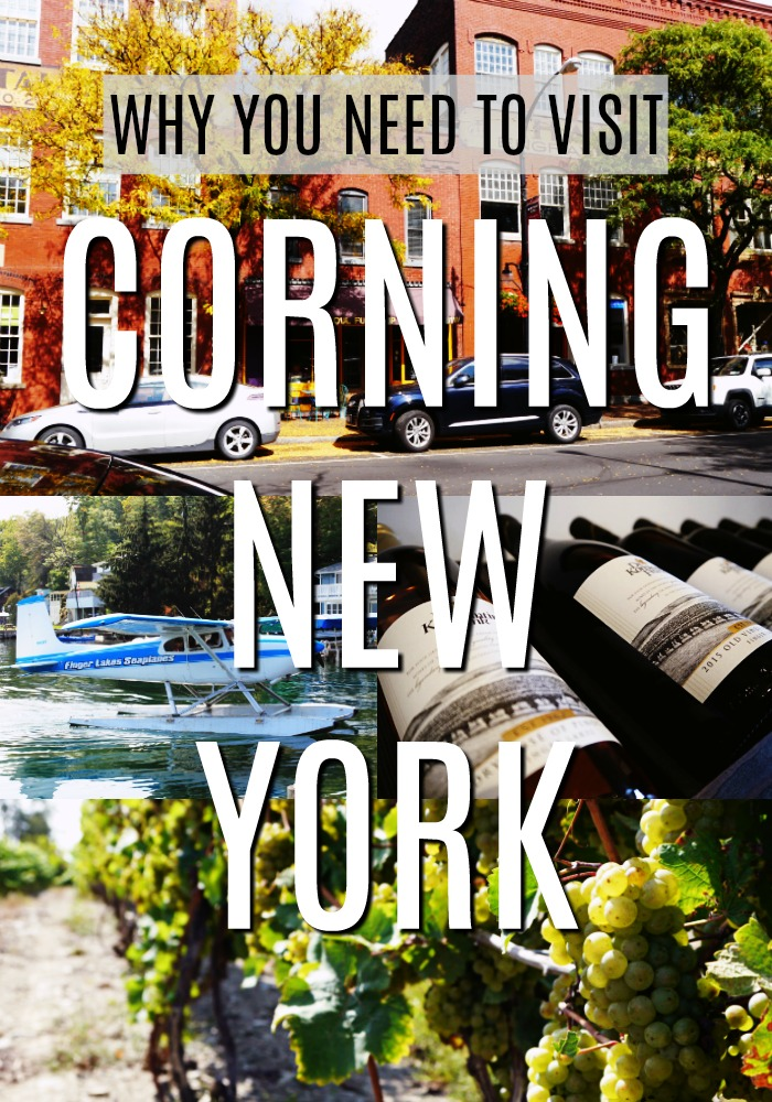 Why you need to visit Corning New York in the Finger Lakes.