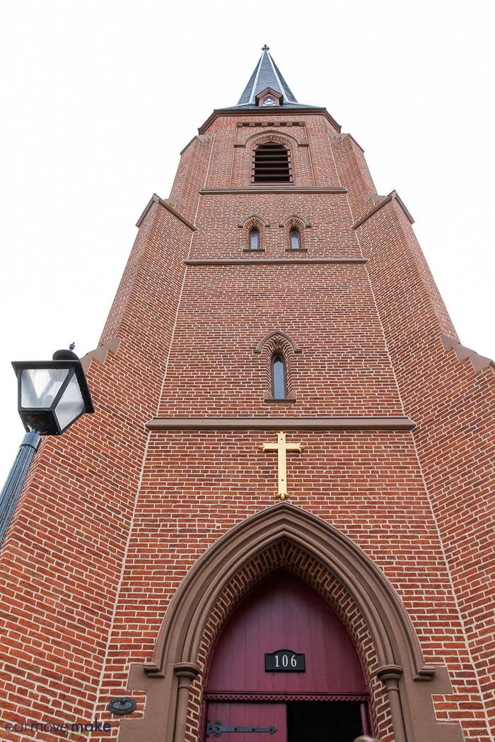 side of All Saints Episcopal Church