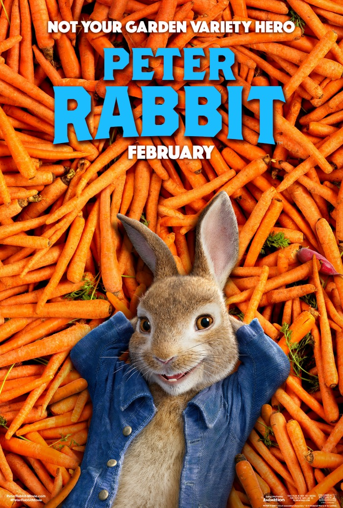 Peter Rabbit in carrots