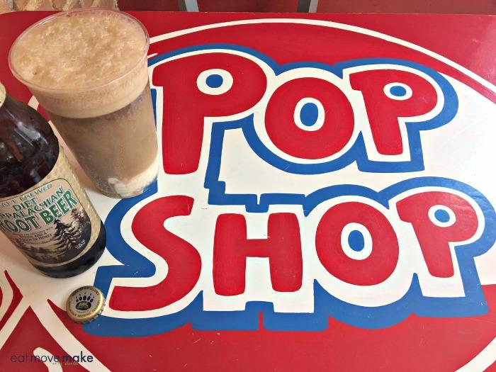 Pop Shop sign