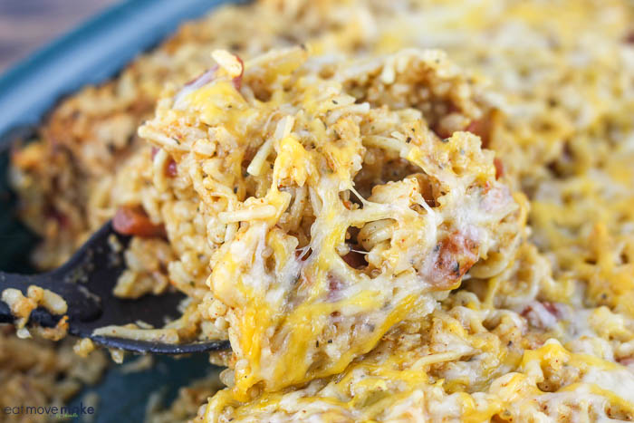 spoonful of tex mex casserole