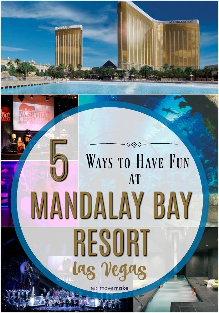 Mandalay Bay entertainment