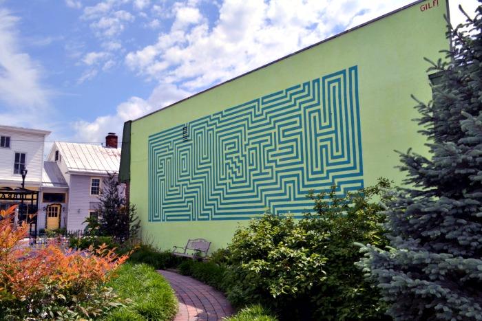 Staufferstadt Mural Strasburg VA