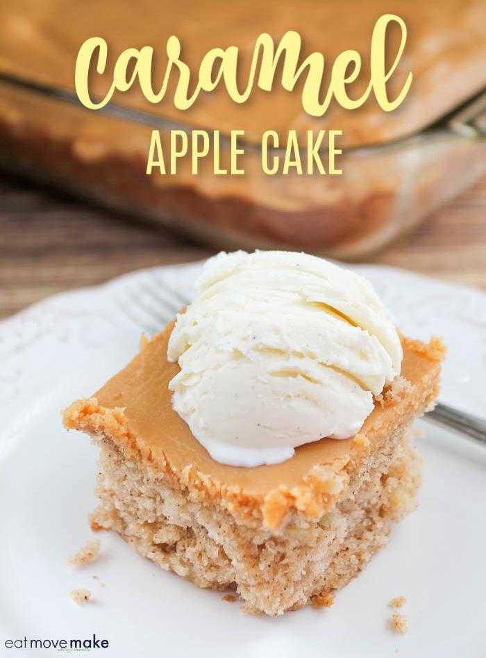 best caramel apple cake recipe