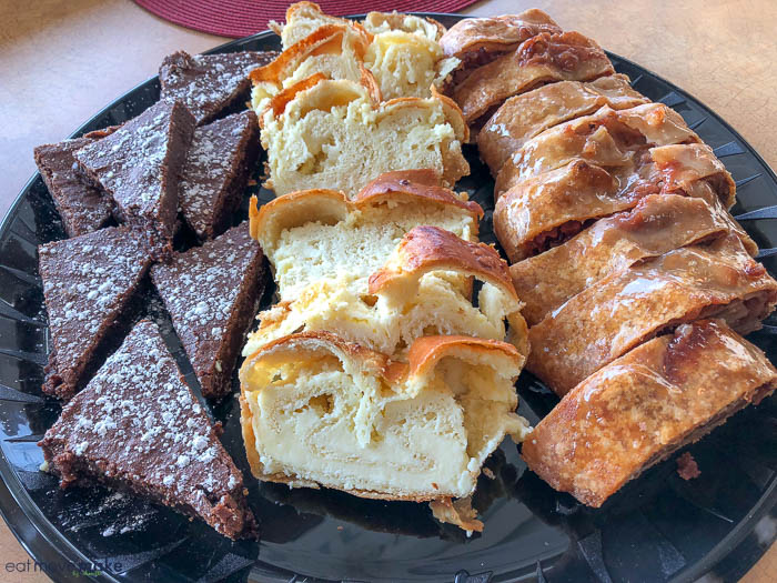 MeMa's old-fashioned bakery brownies, povitica, strudel