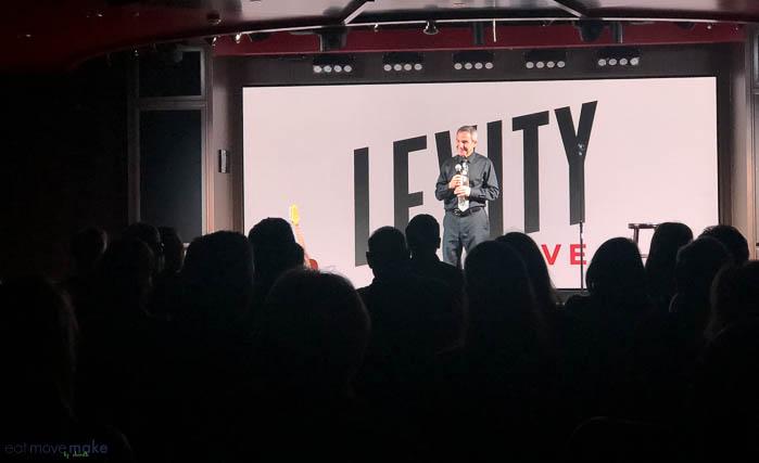 Levity comedian