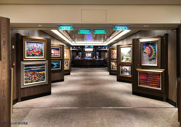 Norwegian Bliss art gallery