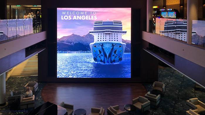 Norwegian Bliss and Norwegian Cruise Line
