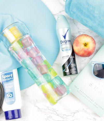 summer deodorant sprays