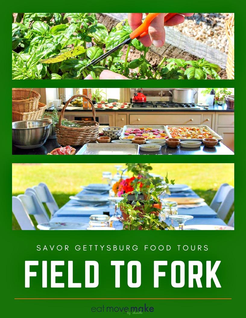 Savor Gettysburg Food Tours - Field to Fork