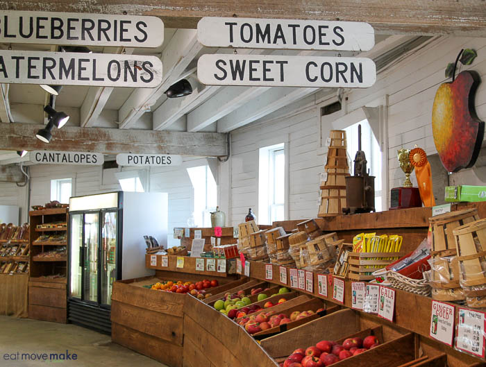 A store filled with lots of fruit