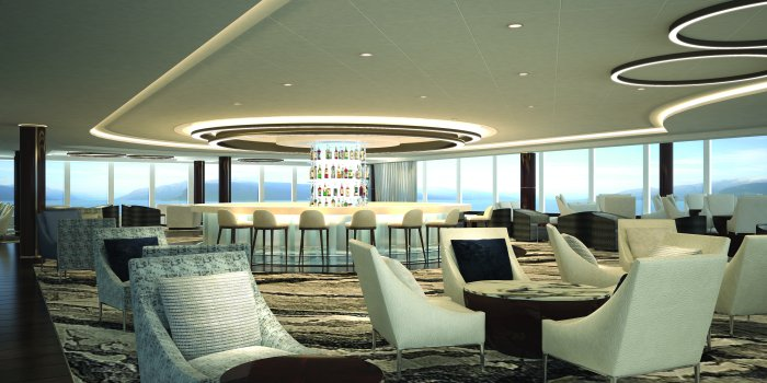 Observation Lounge on Bliss