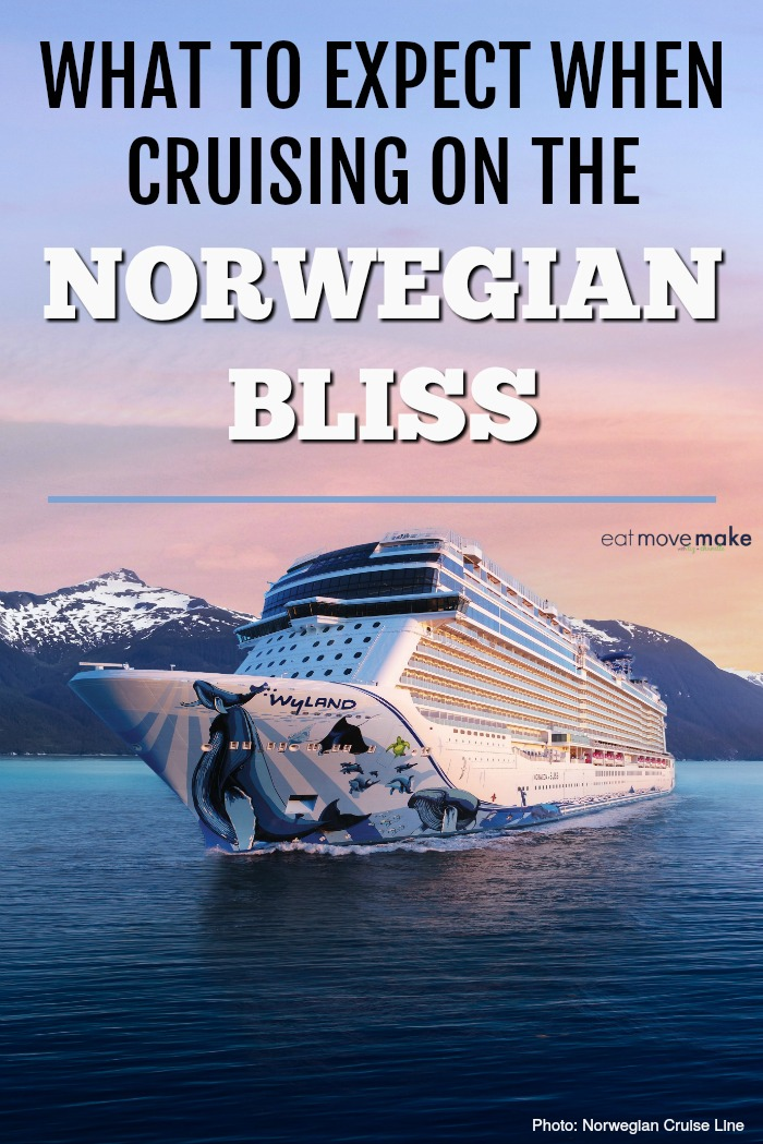 what to expect when cruising on the Norwegian Bliss