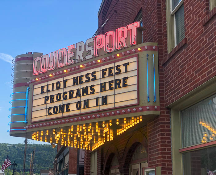 a theater marquee