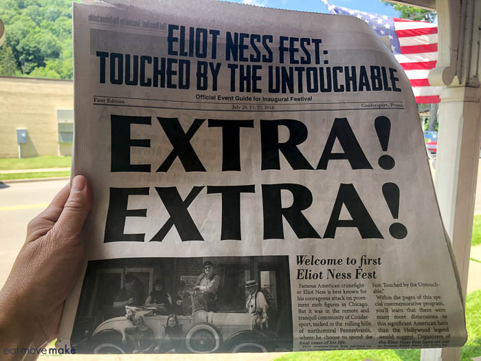 Extra Extra on newspaper