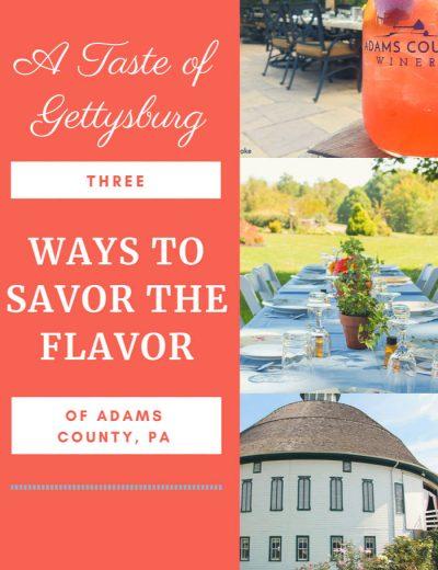 ways to savor the flavor banner