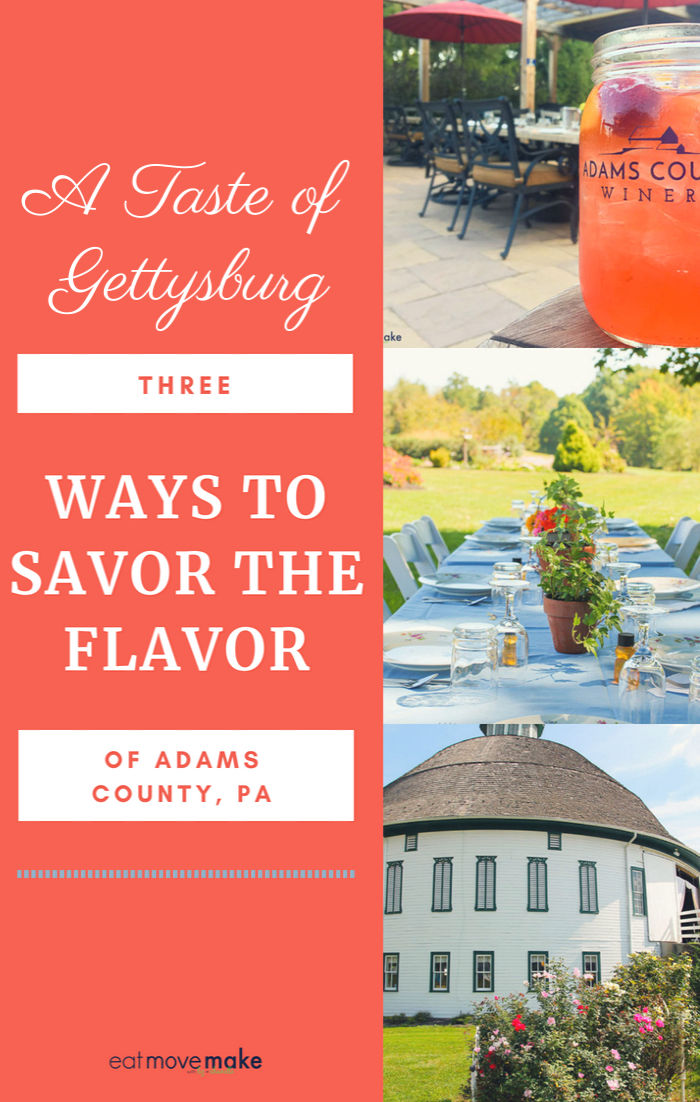 Get a taste of Gettysburg! Savor the flavor of Adams County through a wide array of amazing food, agritourism and distinctly local experiences.