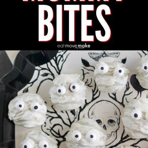 mummy bites on a plate