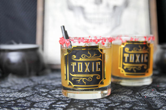 Toxic tumbler cocktails