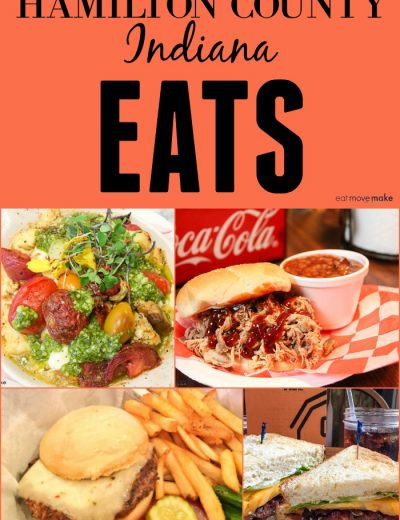 collage of food from Hamilton County IN