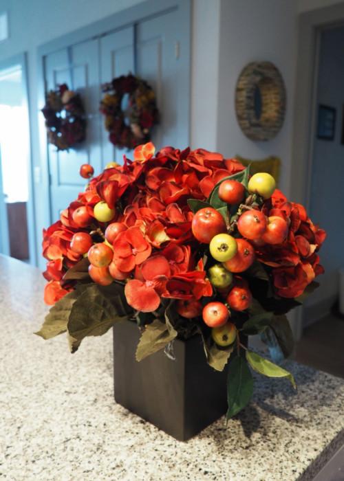 Nearly Natural fall Hydrangea