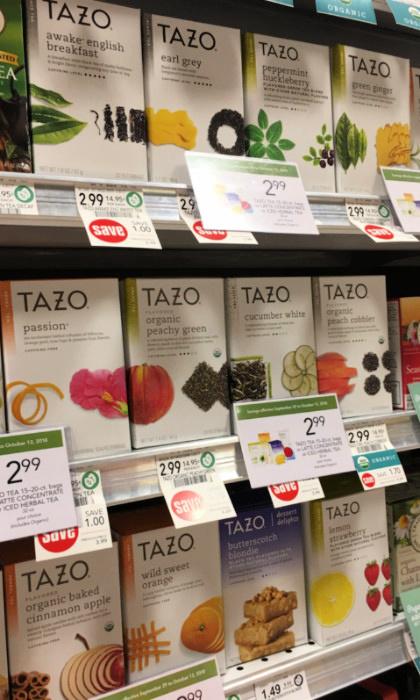 Tazo Tea at Publix