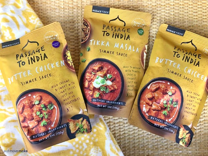 Passage to India simmer sauces