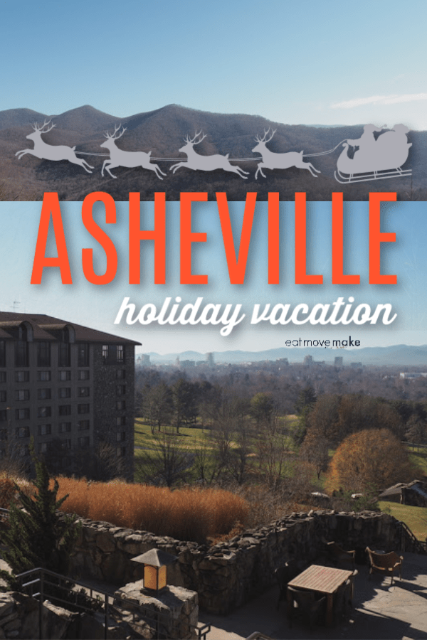 Asheville holiday vacation sign
