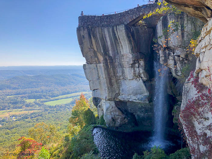 A view of Lover\'s Leap