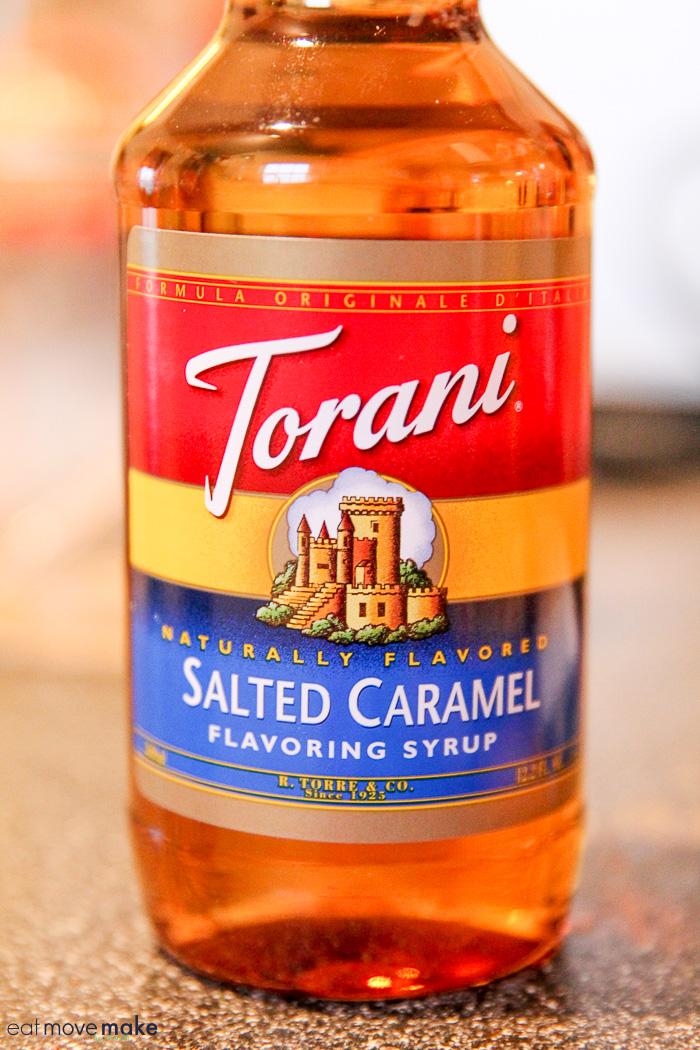 Torani salted caramel flavoring syrup
