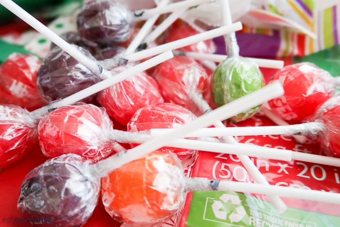 lollipops for DIY candy bouquet
