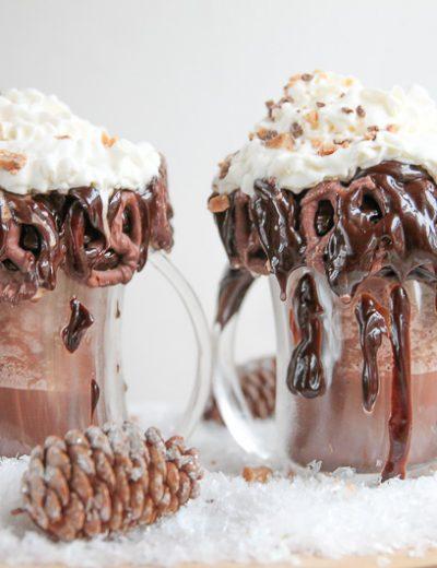 frozen caramel hot chocolate