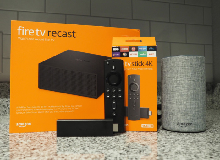 Amazon Fire TV Stick 4K and Amazon Fire TV Recast