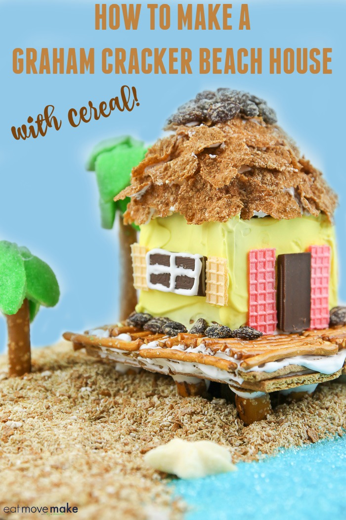 beach house made of cereal