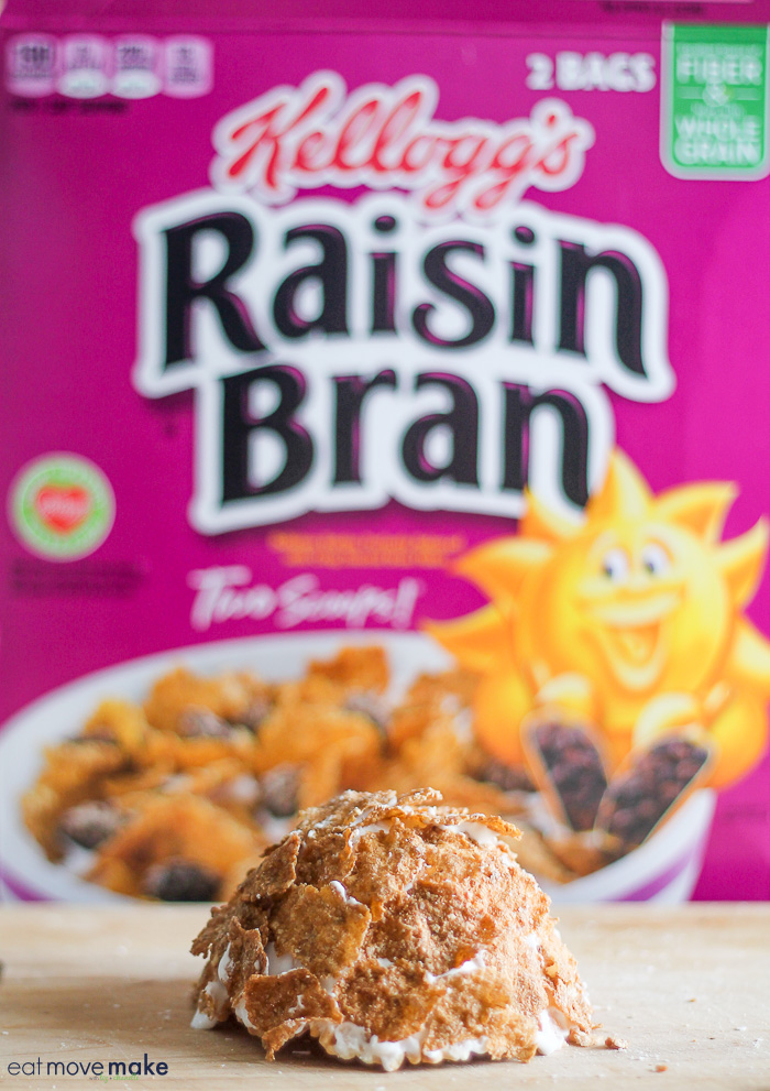 Raisin Bran box