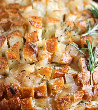 apple and brie pull apart bread