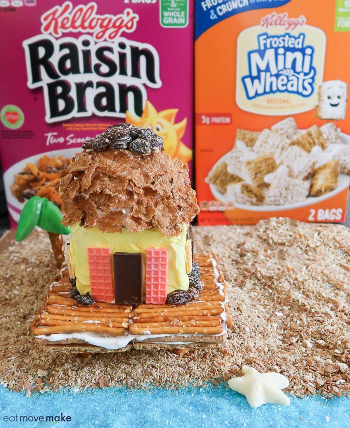 cereal graham cracker beach house