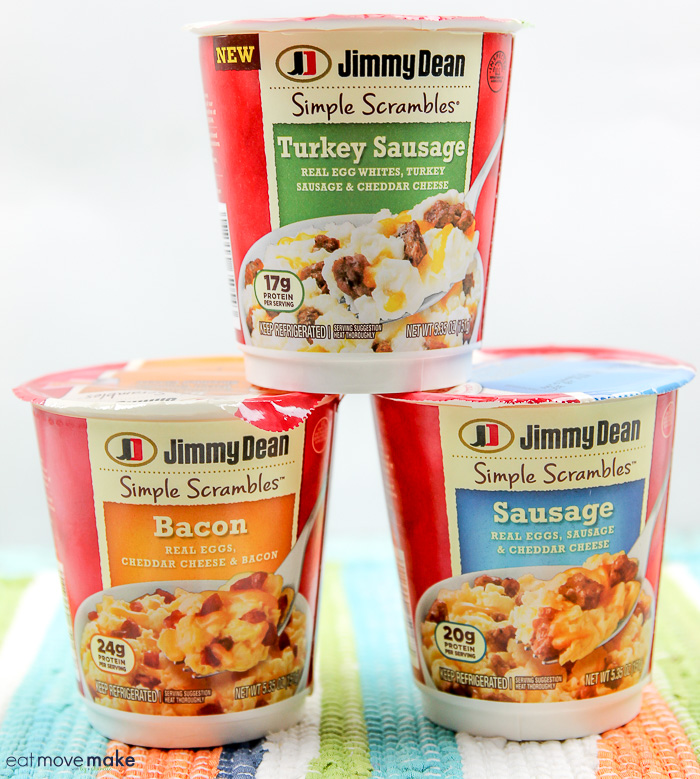 Jimmy Dean Simple Scrambles containers