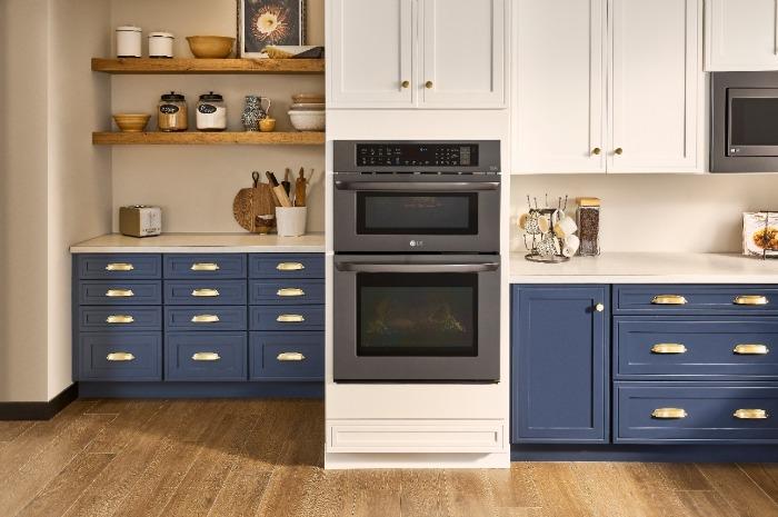 kitchen upgrades - LG double oven