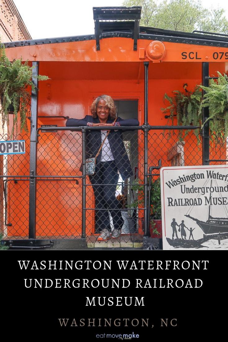 Washington Waterfront Underground Railroad Museum - Washington NC.