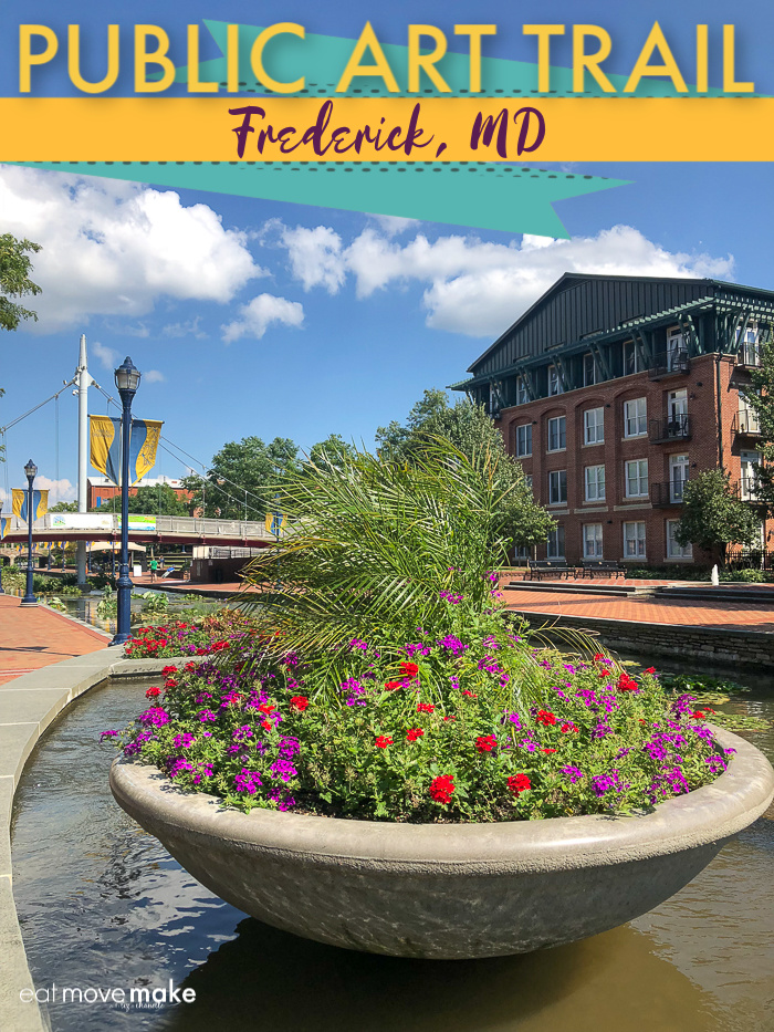 Frederick Maryland public art trail