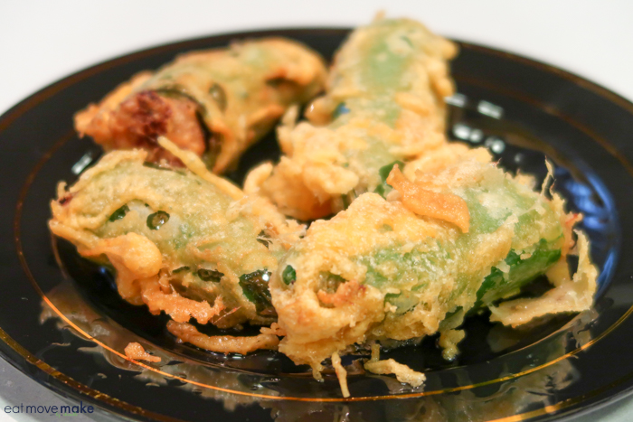 A close up of jalapeno poppers