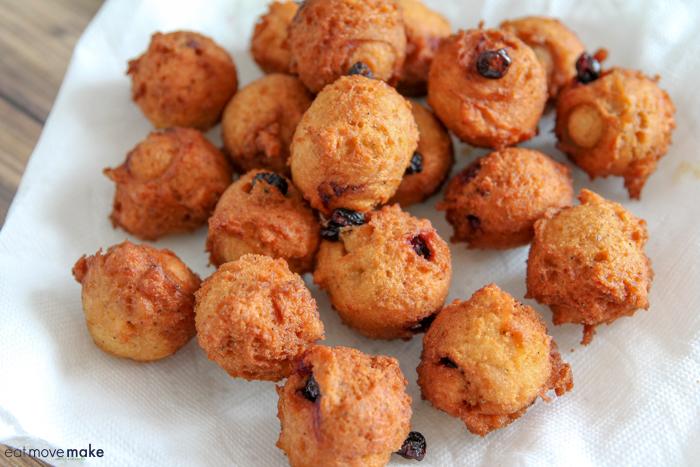 Blueberry Lemon Poppyseed Pancake Balls
