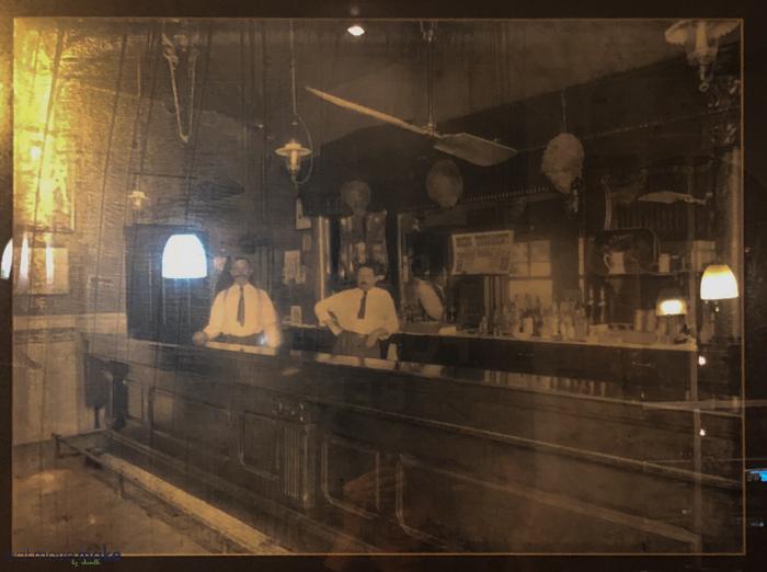 The Harmony Inn old photograph