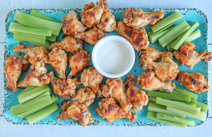 ranch buffalo wings recipe