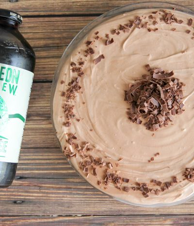 chocolate peanut butter coffee icebox pie