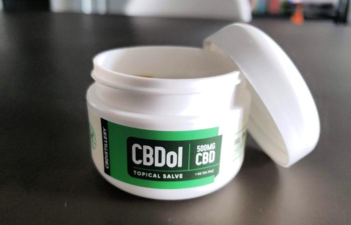 CBD Distillery CBDol CBD Salve