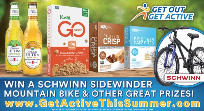 Get Out Get Active sweepstakes
